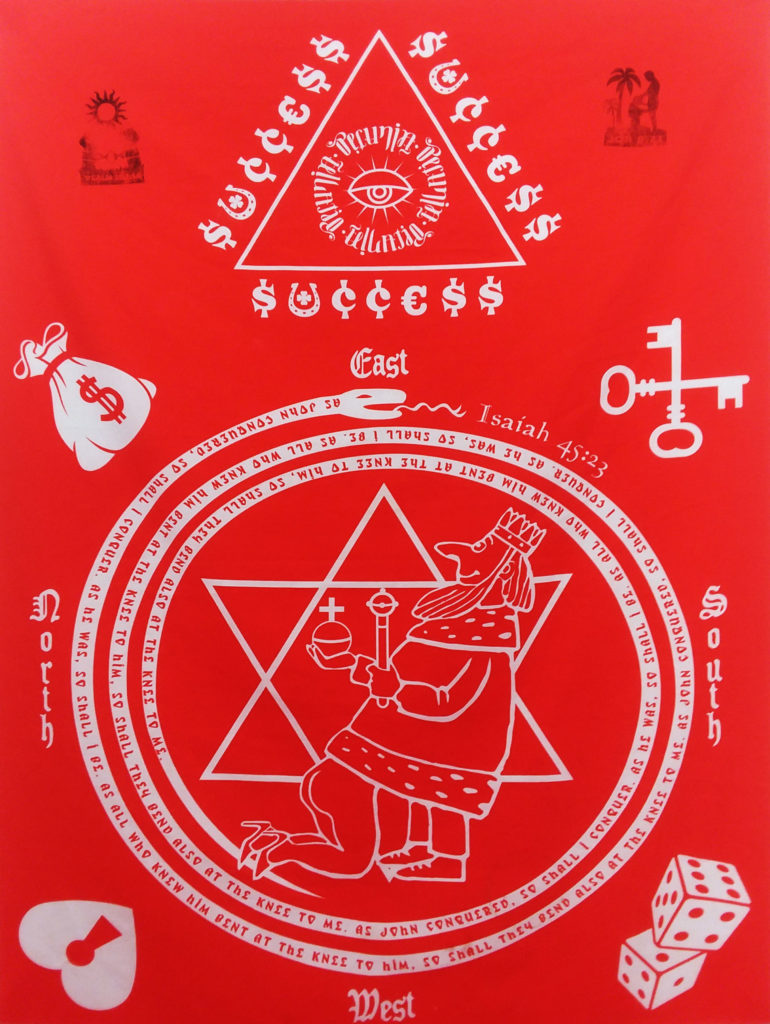 High John the Conqueror Altar Cloth