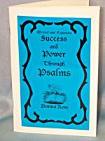 Success And Power Through The Psalms By Donna Rose