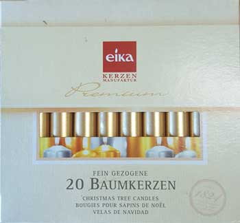 """1-2"""" Gold Altar Candle 20 Pack"""