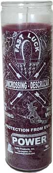 Uncrossing 7-day Jar Candle Purple