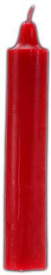 """9"""" Red Jumbo Candle"""