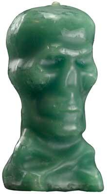 """5"""" Green Skull"""