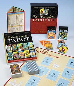 Complete Tarot Kit Deck & Book By Susan Levitt