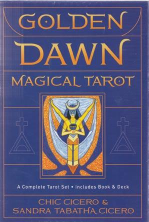 Golden Dawn Magical Tarot (deck And Book) By Cicero & Cicero
