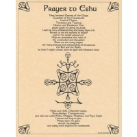Prayer To Eshu Poster