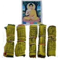 """3"""" Tibetan Prayer Flag (5-pack)"""