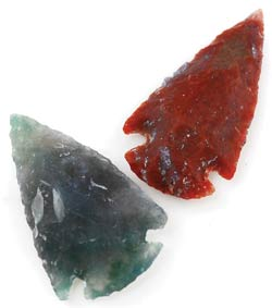 """Arrowhead 1""""- 2 1-4"""" Stone"""