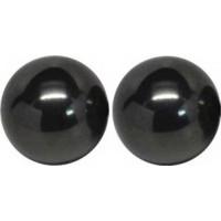 """3-4"""" Magnetic Hematite Balls 10 Pairs"""