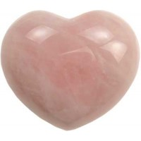 "1 3-4"" Rose Quartz Heart"