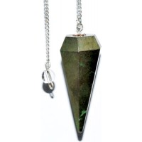 6-sided Pyrite Pendulum
