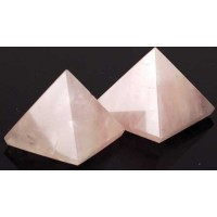 30-40mm Rose Quartz Pyramid