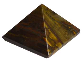 25-30mm Tiger's Eye Pyramid