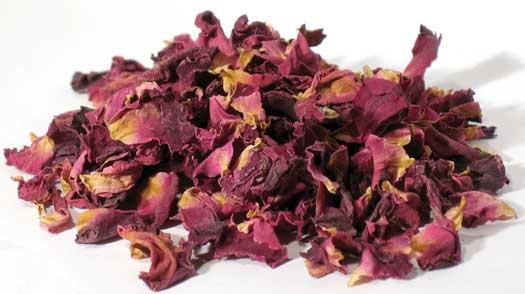 1 Lb Red Rose Buds & Petals (rosa Centifolia)