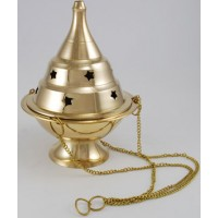Hanging Brass Censer