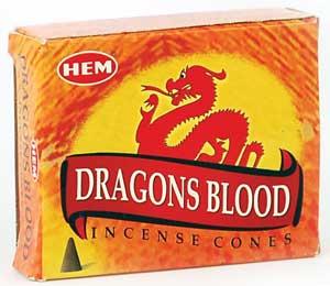 Dragon's Blood Hem Cone 10 Cones