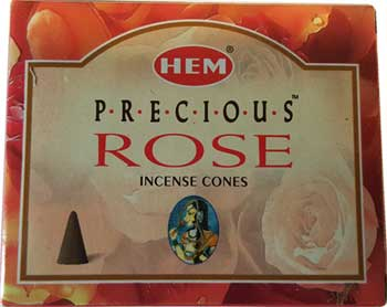 Precious Rose Hem Cone 10 Cones