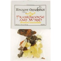 Frankincense & Myrrh Granular Incense 1-3oz