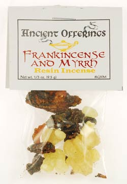 Frankincense & Myrrh Granular Incense 1-3oz