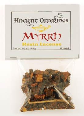 Myrrh Granular Incense 1-3 Oz