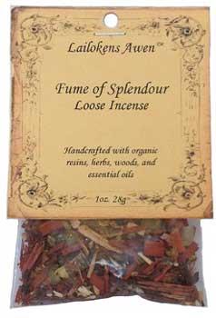 28g Fume Of Splendour Lailokens Awen Incense
