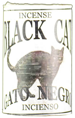 Black Cat Incense Powder 1 3-4 Oz