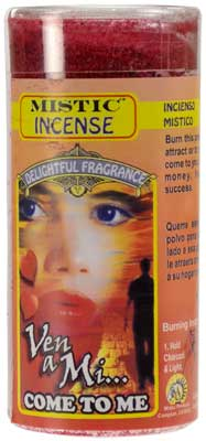 1 3-4 Oz Come To Me Powder Incense