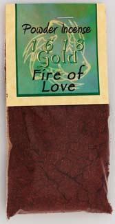 1oz Fire Of Love Powder Incense