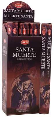 Santa Muerte Hem Stick 20 Pack