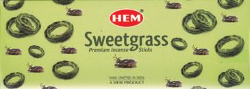 Sweetgrass Hem Stick 20 Pack