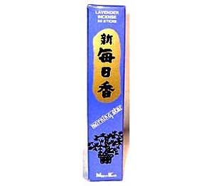 Lavender Morning Star Stick Incense & Holder 50 Pack
