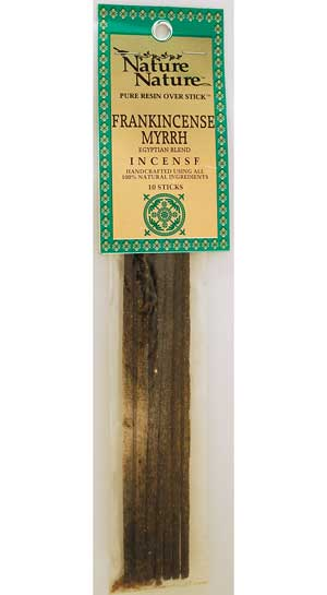 Frankincense-myrrh Egyptian Blend Nature Nature Stick 10 Pack