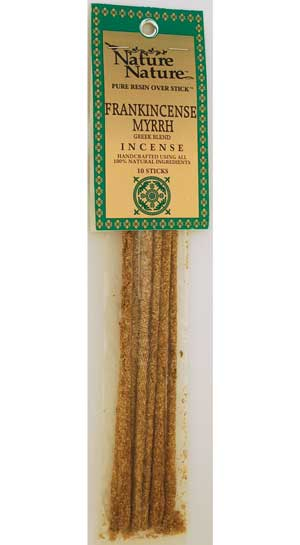 Frankincense-myrrh Greek Blend Nature Nature Stick 10 Pack