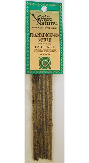 Frankincense-myrrh Roman Blend Nature Nature Stick 10 Pack