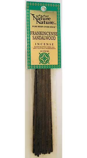 Frankincense-sandalwood Nature Nature Stick 10 Pack