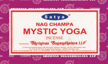 Mystic Yoga Satya Incense Stick 15 Gm