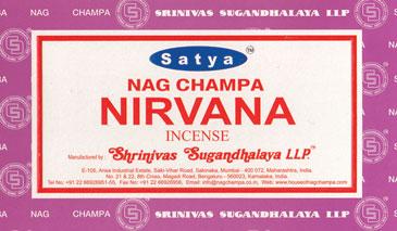 Nirvana Satya Incense Stick 15 Gm