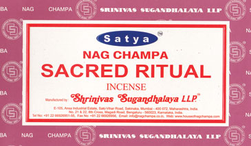 Sacred Ritual Satya Incense Stick 15 Gm