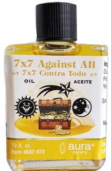 7x7 Against All Oil 4 Dram