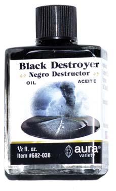 Black Destroyer Oil 4 Dram