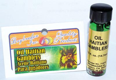 Haitian Gambler Oil With Root 4 Dram