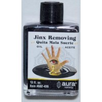 Jinx Removing Oil 4 Dram