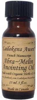 15ml Abra Melin (french) Lailokens Awen Oil