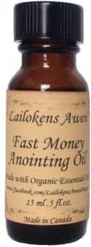 15ml Fast Money Lailokens Awen Oil