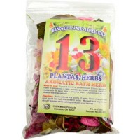 1 1-4oz 13 Herbs Aromatic Bath Herb