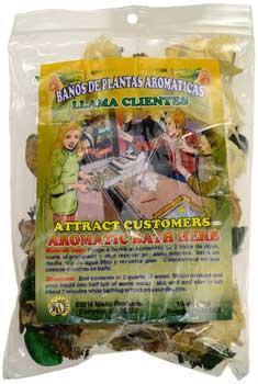 1 1-4oz Attract Customers ( ) Aromatic Bath Herb