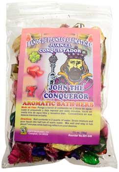1 1-4oz John The Conqueror(juan Conquistador) Aromatic Bath Herb