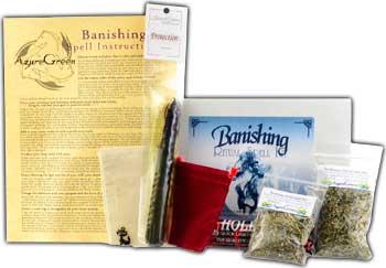 Banishing Boxed Ritual Kit