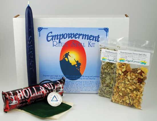 Empowerment Boxed Ritual Kit