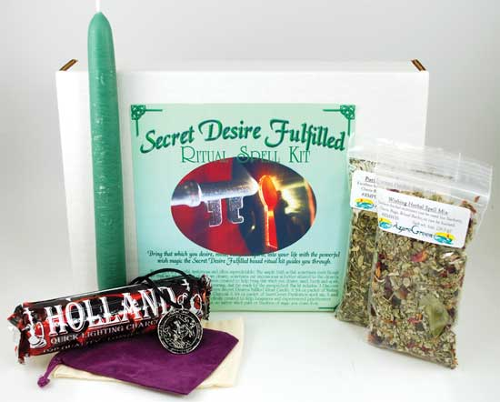 Secret Desire Fulfilled Boxed Ritual Kit