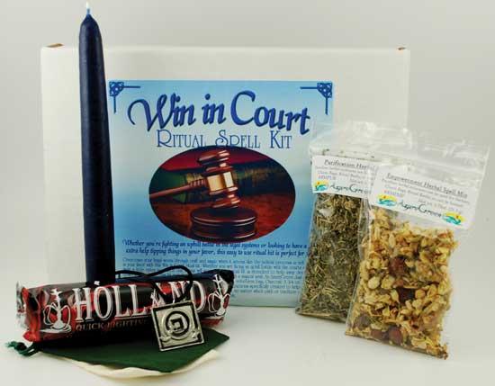 Win In Court Boxed Ritual Kit